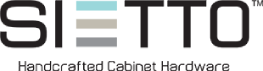 Sietto Handcrafted Cabinet Hardware Logo
