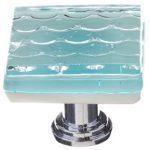 Texture Light Aqua Honeycomb K-901