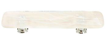 Reflective Cirrus Vanilla & White Mardi Gras P-500