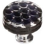 Texture Black Honeycomb R-902
